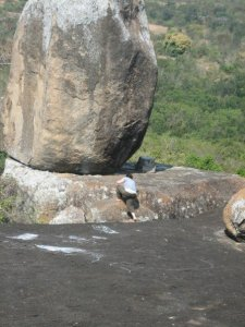 One time, in Africa, Afrika found a rock. It was so Lion King.